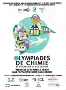 Olympiades de Chimie 2017