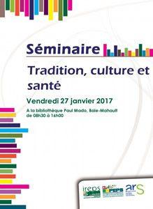 Affiche séminaire IREPS 27/01/2017