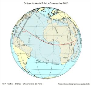 Eclipse Soleil 03/11/2013