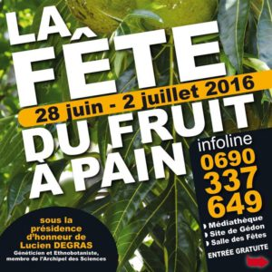 Fête fruit à pain 2016