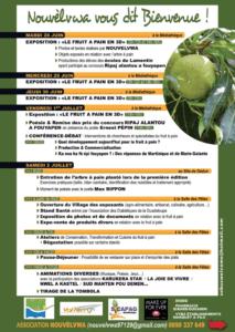 Fête du fruit à pain 2016 programme