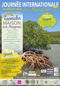 "Affiche ""Journée internationale des mangroves"""