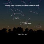 Jupiter & Vénus 12/06/2015