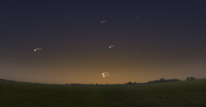 Vénus & Jupiter 12/11/2017