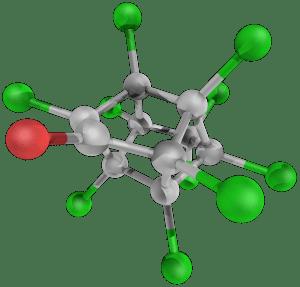 Molécule chlordécone