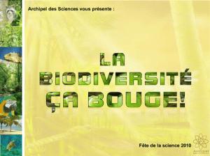"""Diaporama """"la biodivversité ça bouge"""""""