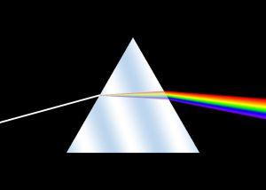 Dispersion de la lumière dans un prisme