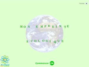 Calculateur Enpreinte écologique