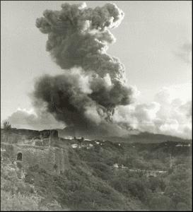 Eruption Soufrière 1976
