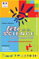 Affiche Fête de la Science 2009