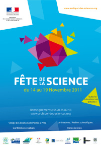 Affiche Fête de la Science 2011