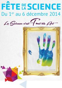 Affiche Fête de la Science 2014