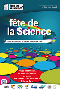 Affiche Fête de la Science 2015
