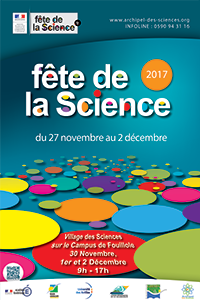 Affiche Fête de la Science 2017