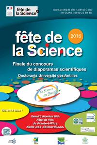 Affiche Science en Pwent 2016