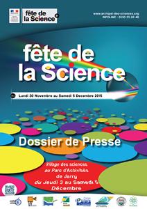 Dossier de presse Fête de la Science 2015