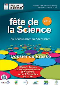 Dossier de presse Fête de la Science 2017