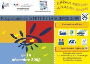 Programme Scolaire Fête de la Science 2008