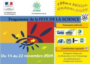 Programme Scolaire Fête de la Science 2009