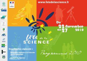 Programme Scolaire Fête de la Science 2010