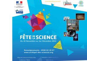 Programme Scolaire Fête de la Science 2012