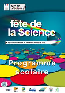 Programme scolaire Fête de la Science 2015