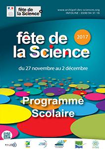Programme scolaire Fête de la Science 2017