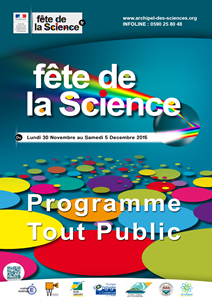 Programme tout public Fête de la Science 2015