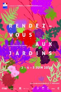 Affiche Rendez-vous aux jardins 2016