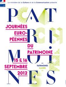 Affiche Journées Européennes du Patrimoine 2012