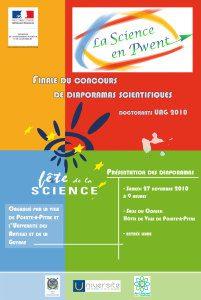 Affiche Science en Pwent 2010