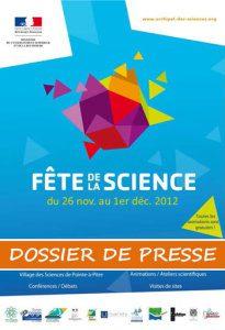 Dossier de Presse Fête de la Science 2012