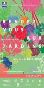 Programme RDV jardins Guadeloupe 2016