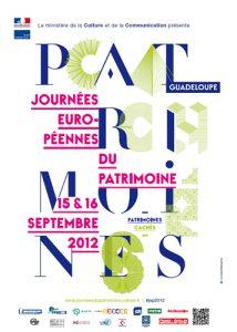 Programme JEP 2012 Guadeloupe