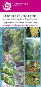 Programme La nature s'offre à cous 2009