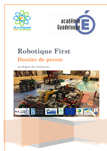 Dossier de presse Robotique First 2017