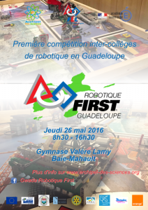 Affiche Robotique First 2016
