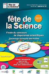 Affiche Science en Pwent 2017
