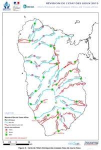 Etat chimique cours d'eau