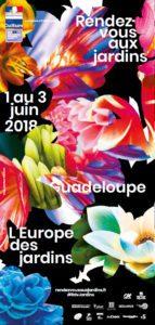 Programme Rendez-vous aux jardins 2018 Guadeloupe