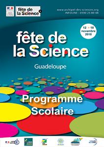 Programme scolaire Fête de la Science 2018