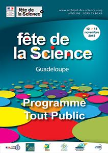 Programme tout public Fête de la Science 2018