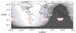 Carte éclipse 21 janvier 2019