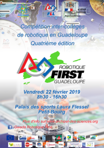 Affiche Robotique First 2019