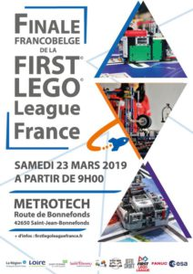 Affiche finale FLL France 2019