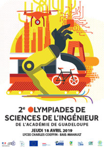 Affiche Olympiades de Sciences de l'Ingénieur 2019