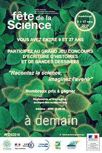 Affiche Concours Fête de la Science 2019