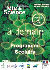 Programme scolaire Fête de la Science 2019