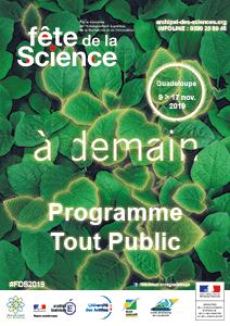 Programme tout public Fête de la Science 2019