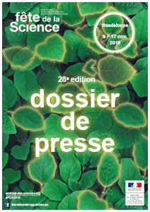Dossier de presse Fête de la Science 2019